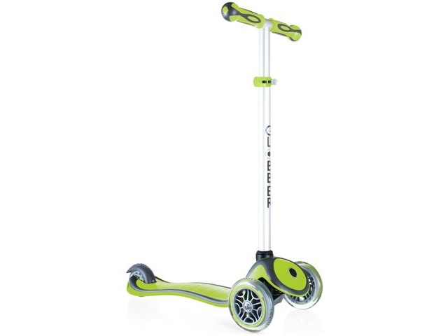 GLOBBER PRIMO PLUS SCOOTER LIME GREEN click to zoom image