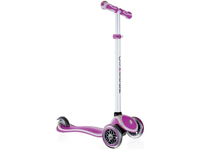 GLOBBER PRIMO PLUS SCOOTER PLUM click to zoom image