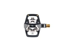 LOOK X-track En-rage Plus Ti MTB Pedals With Cleats: Black/Gold