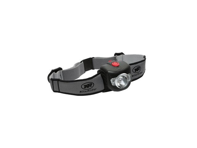 NiteRider Adventure Pro 320 Headlamp (Helmet Stick-on Pivot Mount) click to zoom image