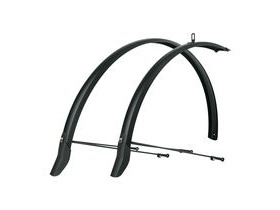 SKS Bluemels Mudguard Set Primus Single U-stay Matt Black 45mm 28""