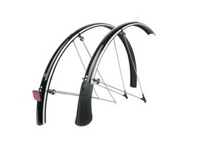 SKS Bluemels Mudguard Set Reflective Black 28""
