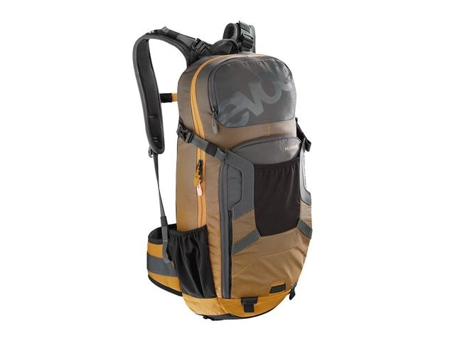 EVOC Fr Enduro Protector Back Pack Carbon Grey/Loam click to zoom image