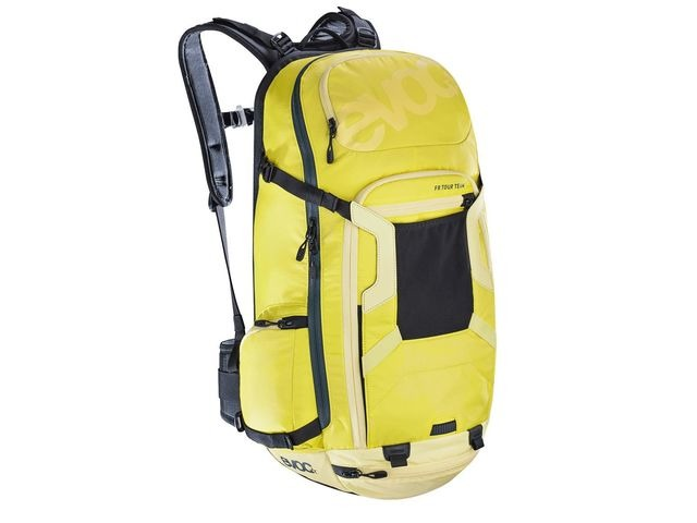 EVOC Fr Tour Protector Back Pack Sulphur/Yellow click to zoom image