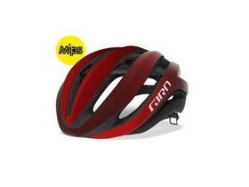 Giro Aether Mips Road Helmet Matt Bright Red/Dark Red