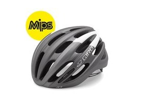 Giro Foray Mips Road Helmet Matt Titanium/White
