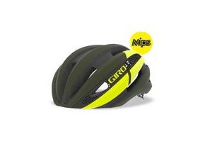 Giro Synthe Mips Road Helmet Matte Olive/Citron