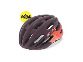 Giro Saga Mips Women's Helmet Matte Dusty Purple Bars