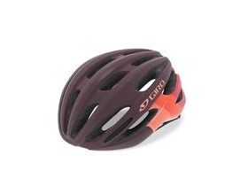 Giro Saga Women's Helmet Matte Dusty Purple Bars