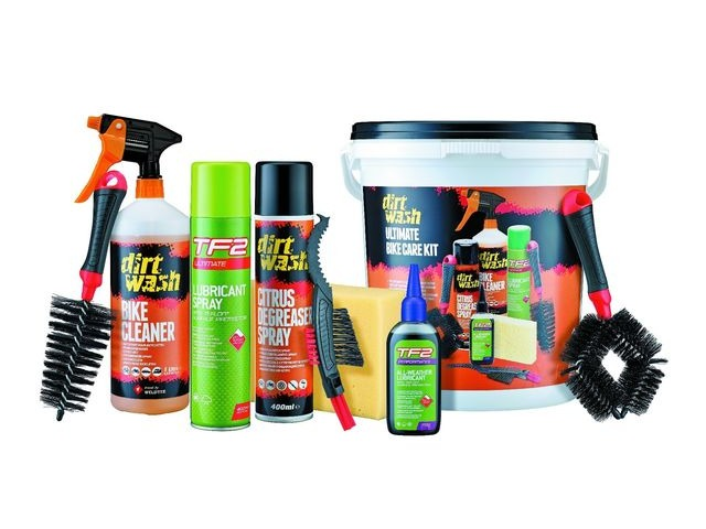 Dirt Wash Cleaning Bucket - Ultimate Bike Care Kit click to zoom image
