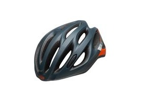BELL Draft Universal Road Helmet 2019: Speed Matte Slate/Grey/Orange Unisize 54-61cm