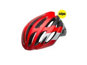 BELL Falcon Mips Road Helmet 2019: Attitude Matte/Gloss Crimson/Black/Grey
