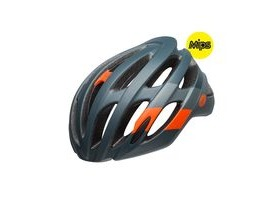 BELL Falcon Mips Road Helmet 2019: Attitude Matte/Gloss Slate/Coal/Orange