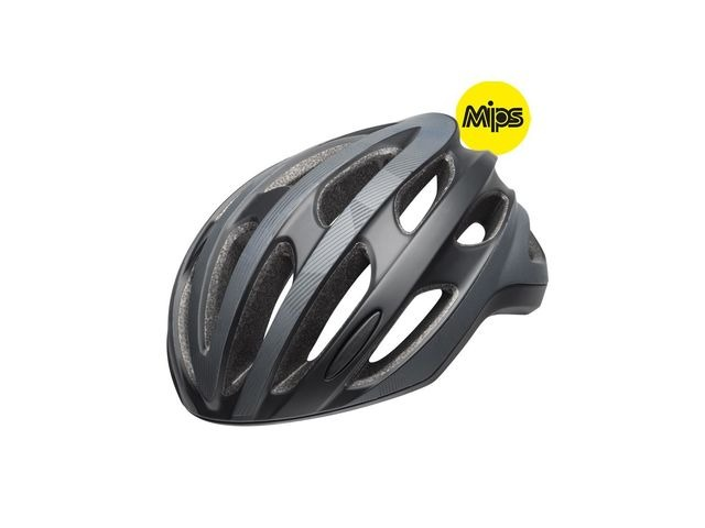 BELL Formula Led Mips Road Helmet 2019: Ghost Matte Black Reflective click to zoom image