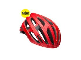 BELL Formula Mips Road Helmet 2018: Matt/Gloss Red/Black