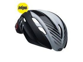 BELL Z20 Aero Mips Road Helmet 2019: Blower Matte/Gloss Black/White/Crimson