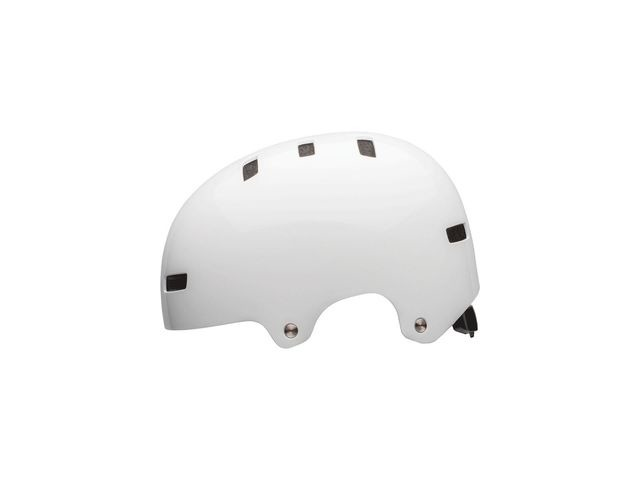 BELL Local BMX/Skate Helmet 2018: White click to zoom image