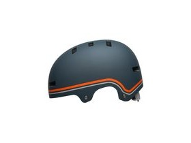 BELL Local BMX/Skate Helmet 2019: Classic Matte Slate/Orange