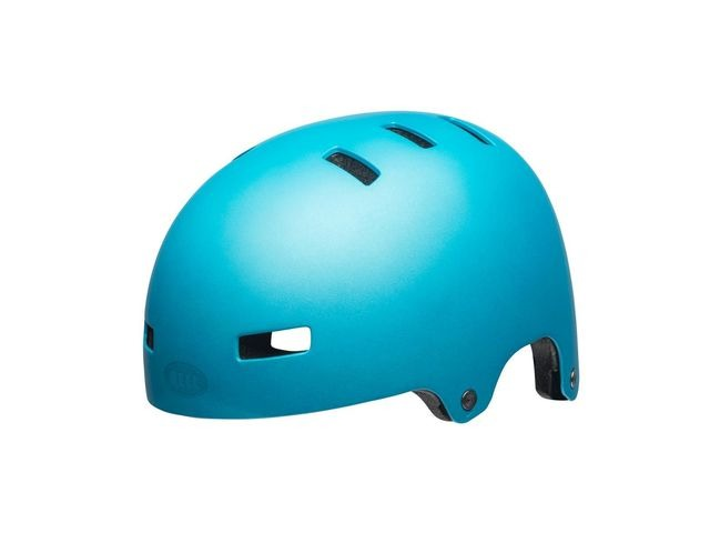 BELL Span Youth Helmet 2019: Matte Bright Blue click to zoom image