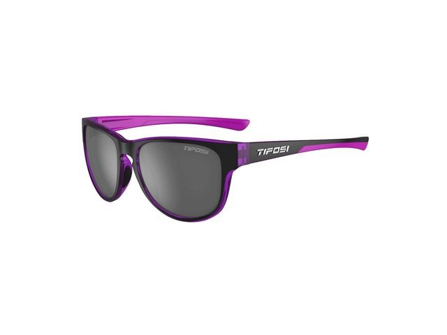 TIFOSI Smoove Single Lens Eyewear 2019 Onyx Ultra Violet/Smoke click to zoom image