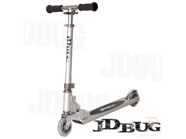 JDBUG ORIGINAL STREET SCOOTER - SILVER click to zoom image
