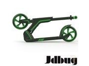 JDBUG PRO COMMUTE 185 SCOOTER - BLACK / GREEN click to zoom image
