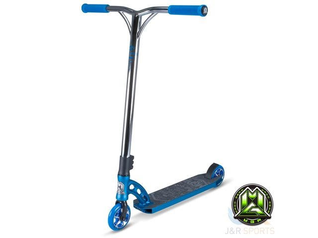 MADD MGP VX 7 TEAM EDITION ELECTRIC BLUE with CHROME BARS click to zoom image